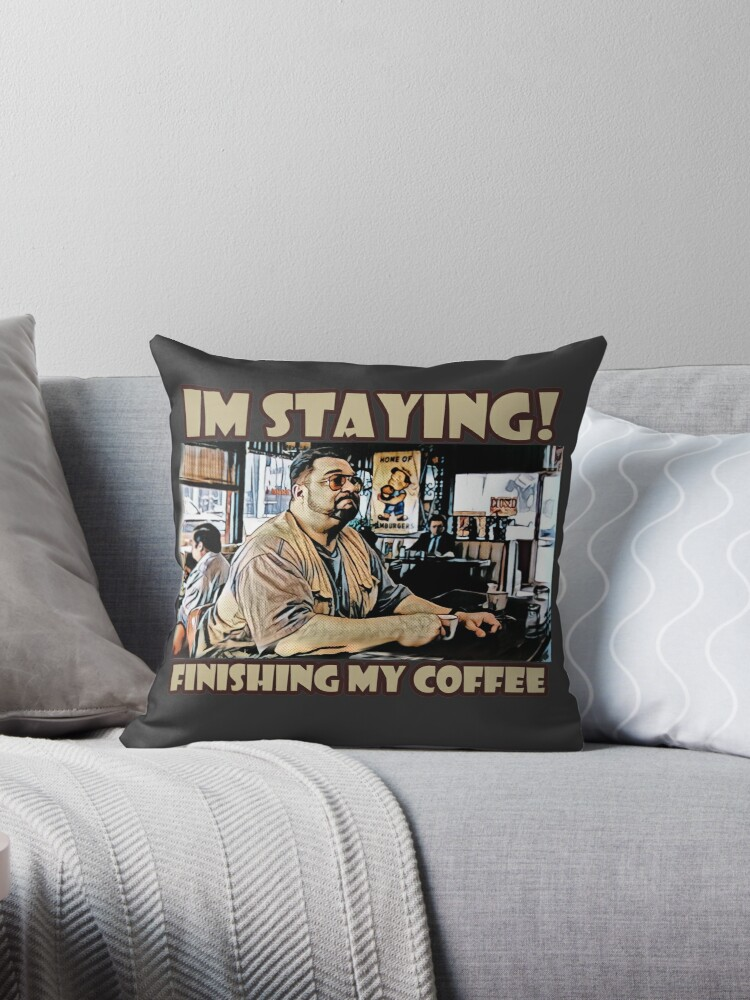 «Me quedo, terminando mi café» de American  Artist