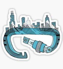Climb Chicago Sticker