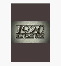 1920 It's Jazz Time! Photographic Print