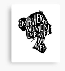 The Empowered Women Canvas Print