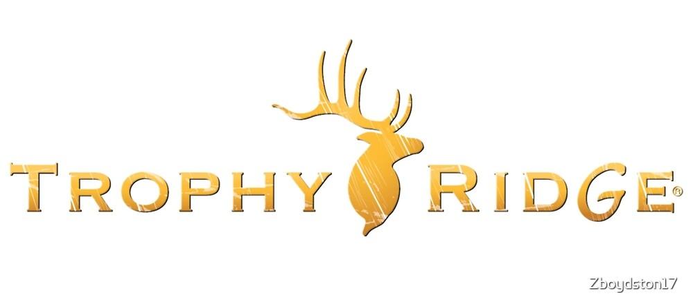 «Logotipo de Trophy Ridge» de Zboydston17
