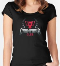 Dr Disrespect Champions Club Women's Fitted Scoop T-Shirt