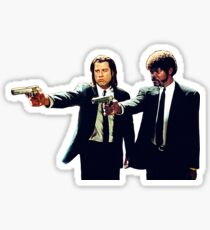 Vincent and Jules Pulp Fiction Sticker