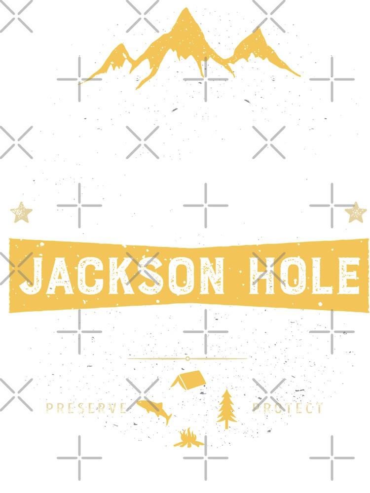 Jackson Hole T Shirt Wyoming Vintage Bison Buffalo Men Women | Baby  One-Piece