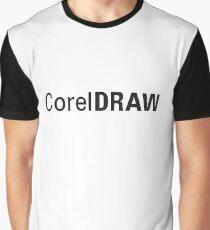 Corel Draw Logo Merchandise Graphic T-Shirt