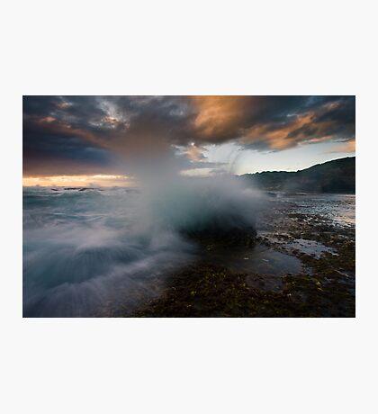 Spray Point Photographic Print