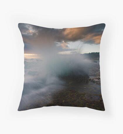 Spray Point Throw Pillow
