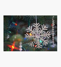 Stary Snow Flake. Photographic Print