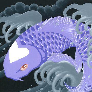 Love Koi Pastel Purple by SadoStyle