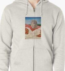 Love and Peace Zipped Hoodie