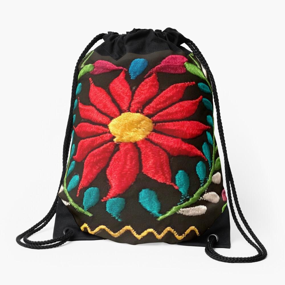 Flores españolas Mochila saco