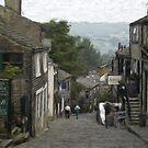 Haworth - Oil Painting Effect by Glen Allen