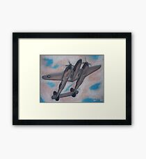 p38 Lightning -- WWII Fighter Framed Print