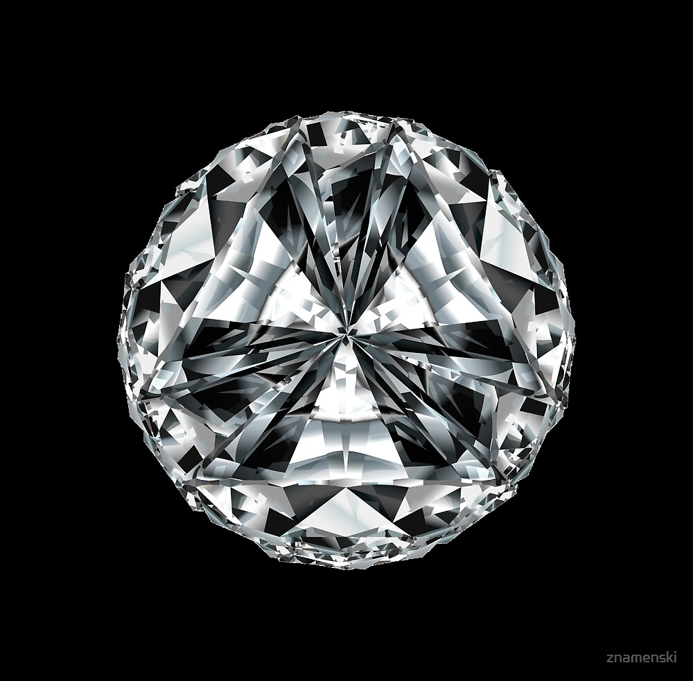 lozenge a single diamond stone the