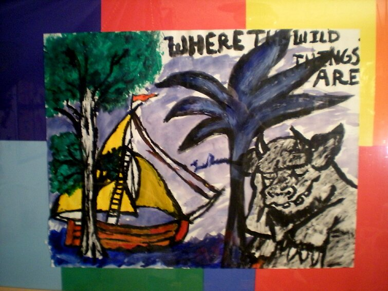 Where the Wild things are. by Lele