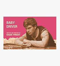 Baby Driver Photographic Print