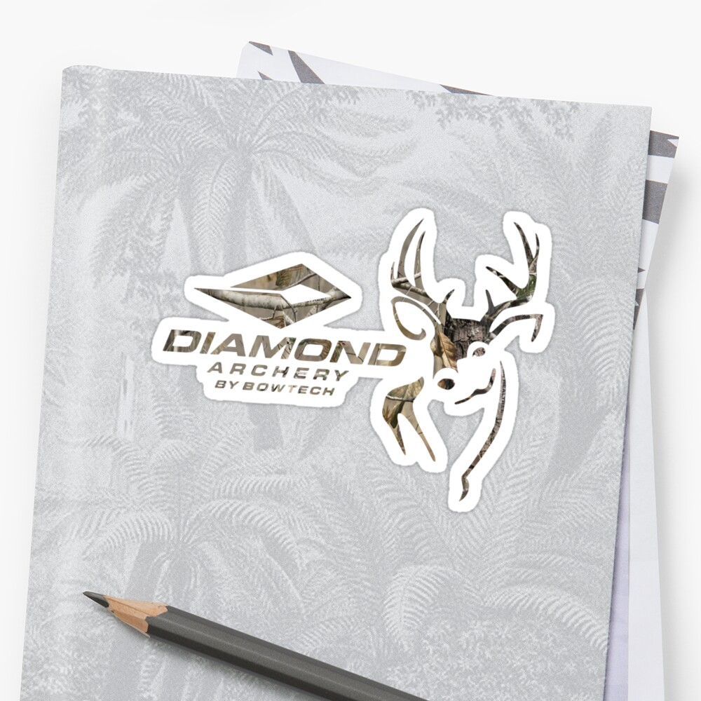Diamond Bowhunting Sticker
