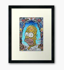 The Simpsons - Homer Simpson Framed Print