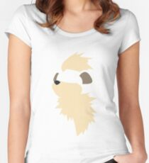 Growlithe Women's Fitted Scoop T-Shirt