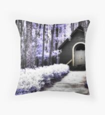 Meeting House - Andrew Jackson State Park Throw Pillow