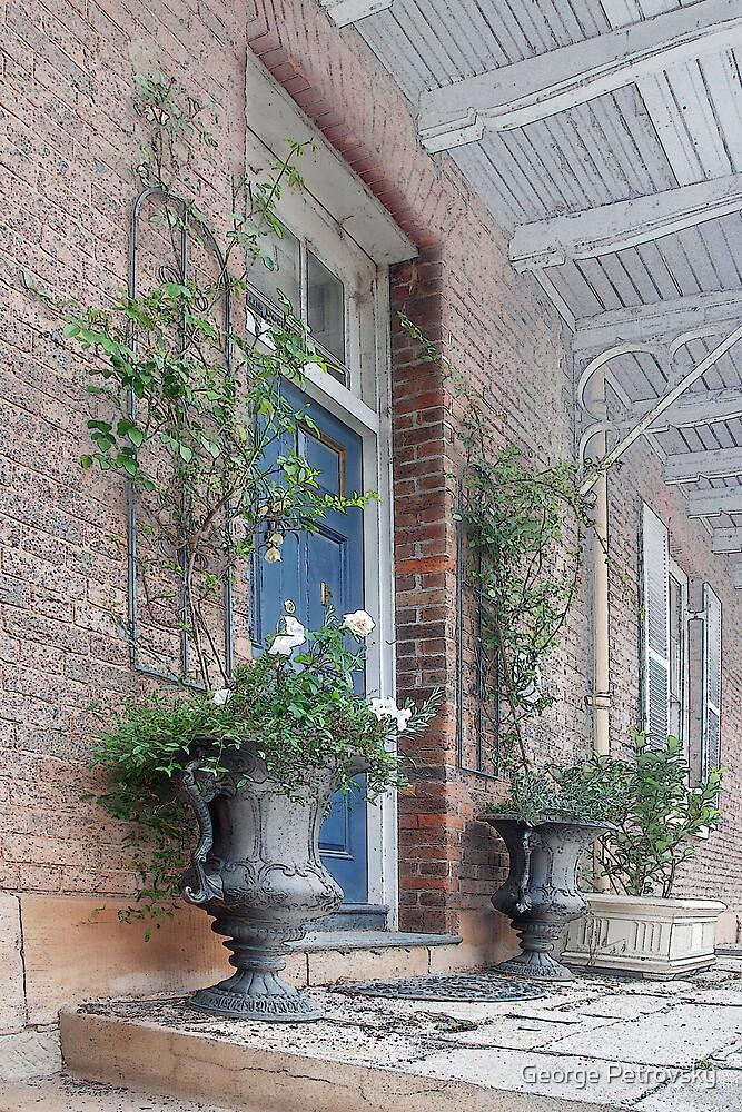 Windsor Terrace Detail # 1 by George Petrovsky