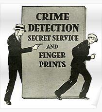 Crime Detector & Secret Service  Poster