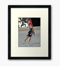 The Flag Bearer Framed Print