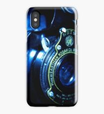 Capturing Yesteryear Vintage photography artwork antique kodak camera photo iPhone Case