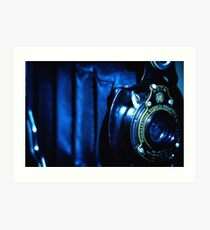 Capturing Yesteryear Vintage photography artwork antique kodak camera photo Art Print