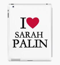 I love Sarah Palin iPad Case/Skin