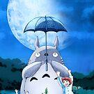 Studio Ghibli's Totoro Mei & Satsuki - GROW! by DKSartDesign