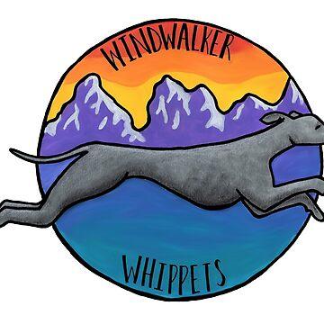 Windläufer Whippets von polaskus
