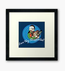 That's Zorg Folks! Framed Print