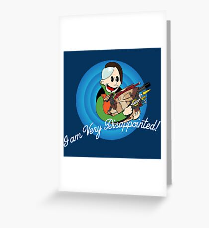 That's Zorg Folks! Greeting Card