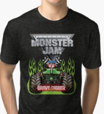 Monster truck Tri-blend T-Shirt