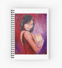 Pretty Girl Spiral Notebook