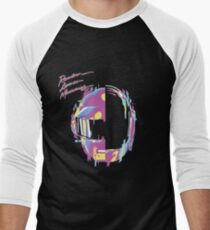 Daft Punk — RAM Remix Men's Baseball ¾ T-Shirt