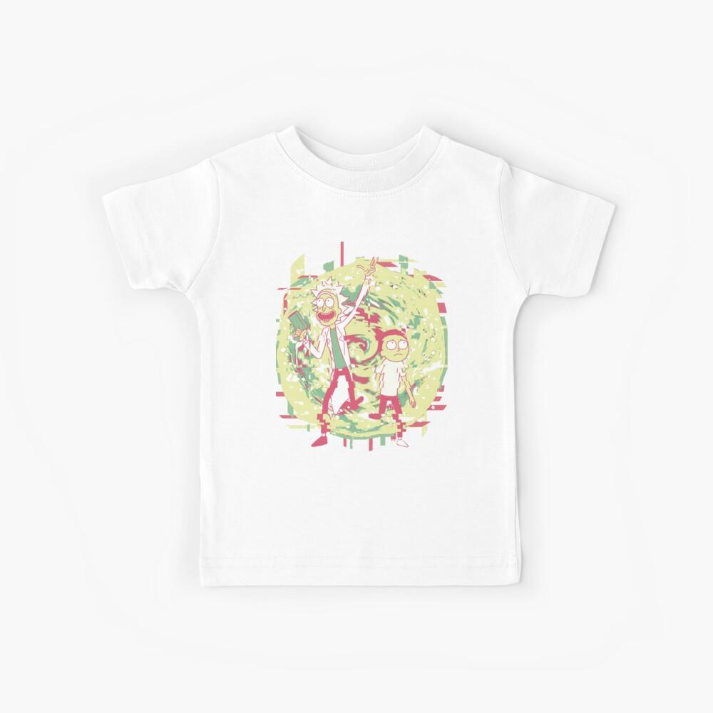 Rick y Morty - En el vacío Camiseta para niños
