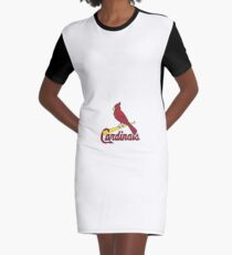 Cardinal Sports Logo Graphic T-Shirt Dress
