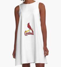 Cardinal Sports Logo A-Line Dress