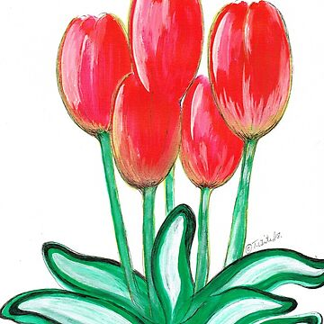 Red Tulips by white1970