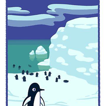 Penguins on Ice by knitetgantt