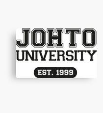 Johto university Canvas Print