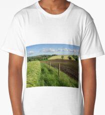 Rural scene near Bradninch Long T-Shirt