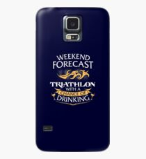 Weekend Forecast Triathlon With A Chance Of Drinking Case/Skin for Samsung Galaxy