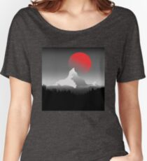 Blood Moon Women's Relaxed Fit T-Shirt