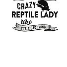 Black Reptile Lady by boltage69