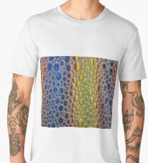 Animal Skin Effect Pattern Men's Premium T-Shirt