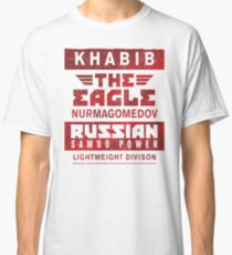 Khabib Nurmagomedov - The Eagle - Sambo Power Classic T-Shirt