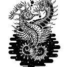 «Space Seahorse Love» de Ruta Dumalakaite
